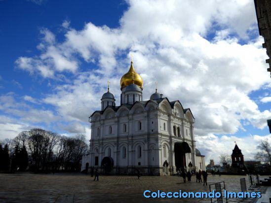 Kremlin de Moscú: Catedral del Arcángel