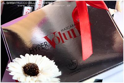 ciglia volumizzate HyperVOLUME Mascara by Tns Cosmetics
