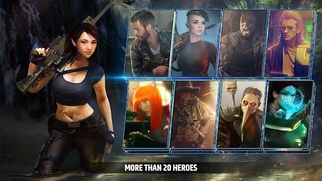 شخصيات لعبة Cover Fire