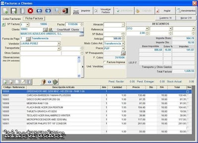 Software gestión de empresas