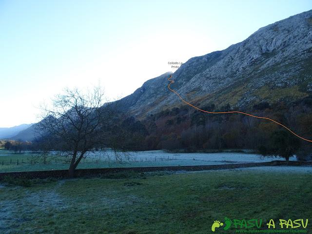 Ruta Cerro de Llabres: Camino al Collado la Prida