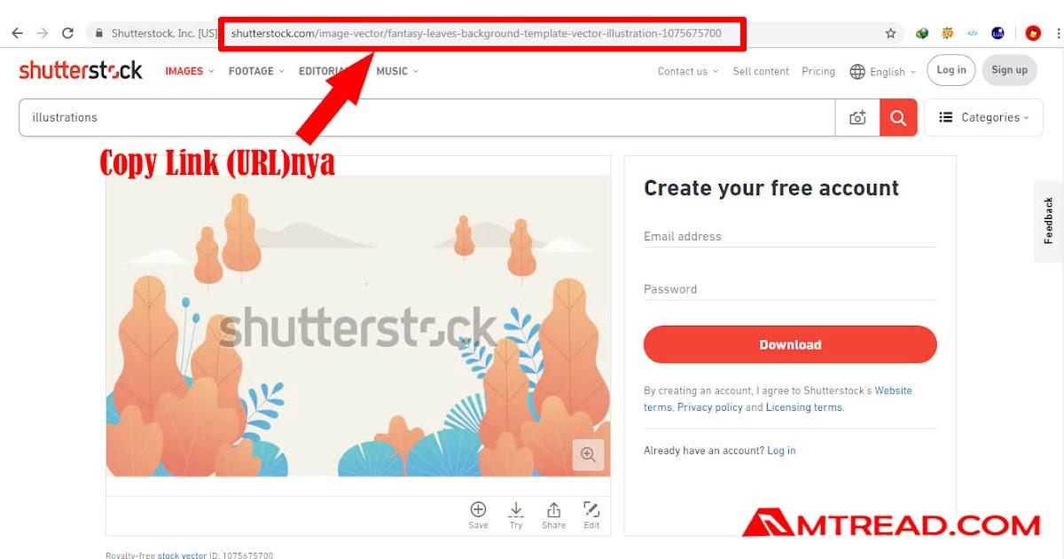 Cara Menghilangkan Tulisan Shutterstock Di Gambar - Tempat ...