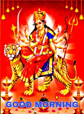 good morning durga images