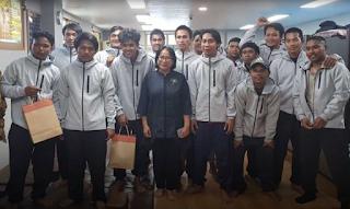 pelaut Indonesia yang selamata dalam tabrakan kapal di Jepang