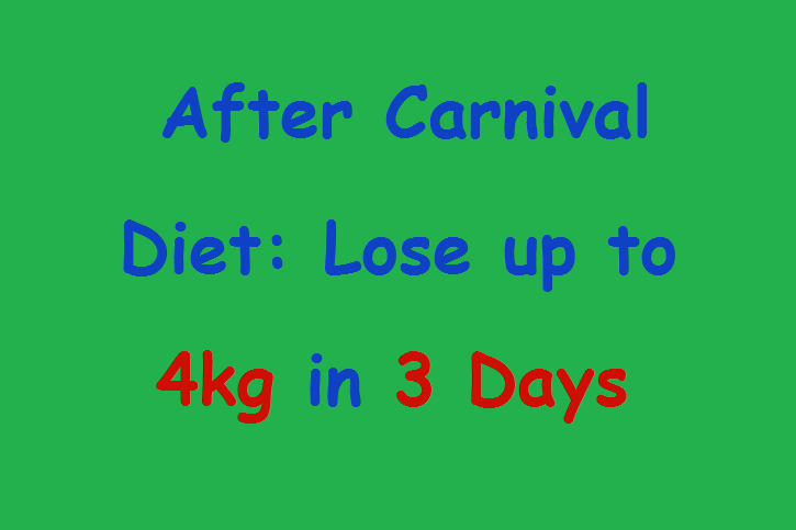 how to lose weight in 4 days for kids