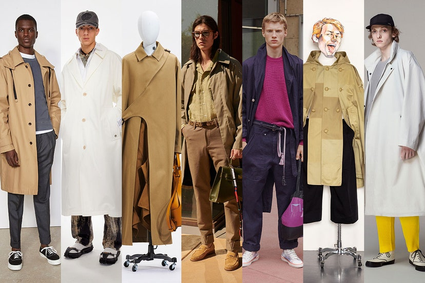 The new classic trench coat