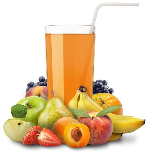 Suco de frutas misto
