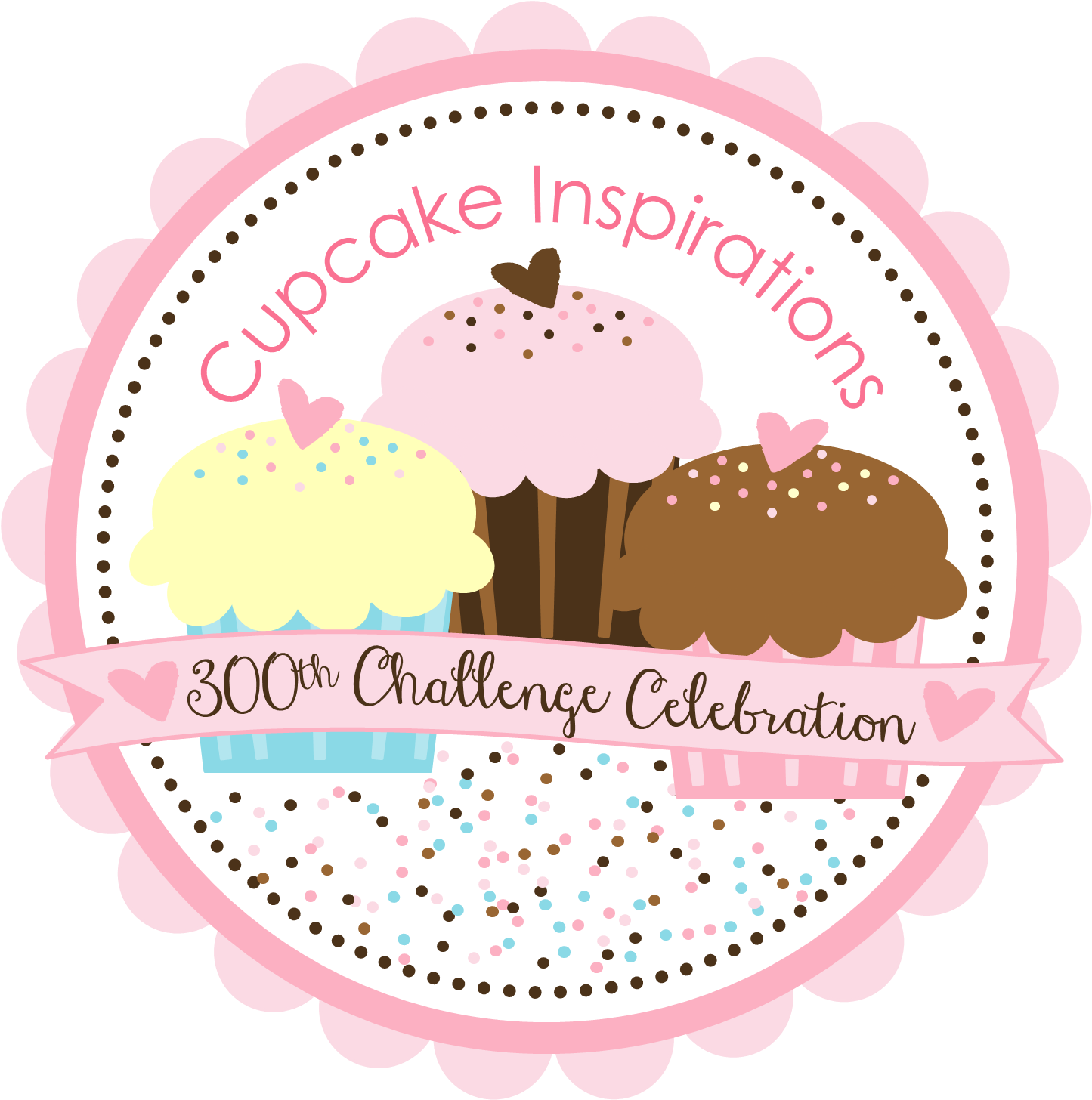 http://cupcakeinspirations.blogspot.com/2015/03/300th-challenge-celebration.html