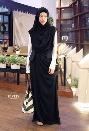 11 Dress Muslim Cantik Untuk Para Wanita Muslimah