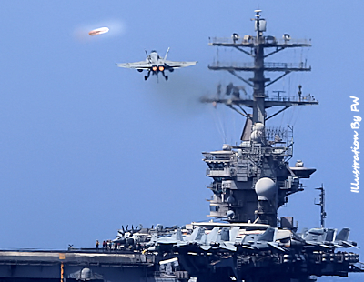 U.S. Navy Carrier Strike Force-11 Encounters Unknowns
