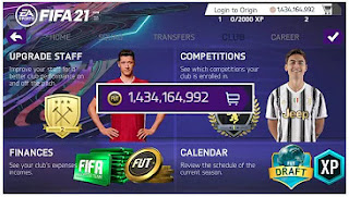 Download FIFA 14 MOD FIFA 21 Mobile Unlimited Money New Face & Update Transfer February