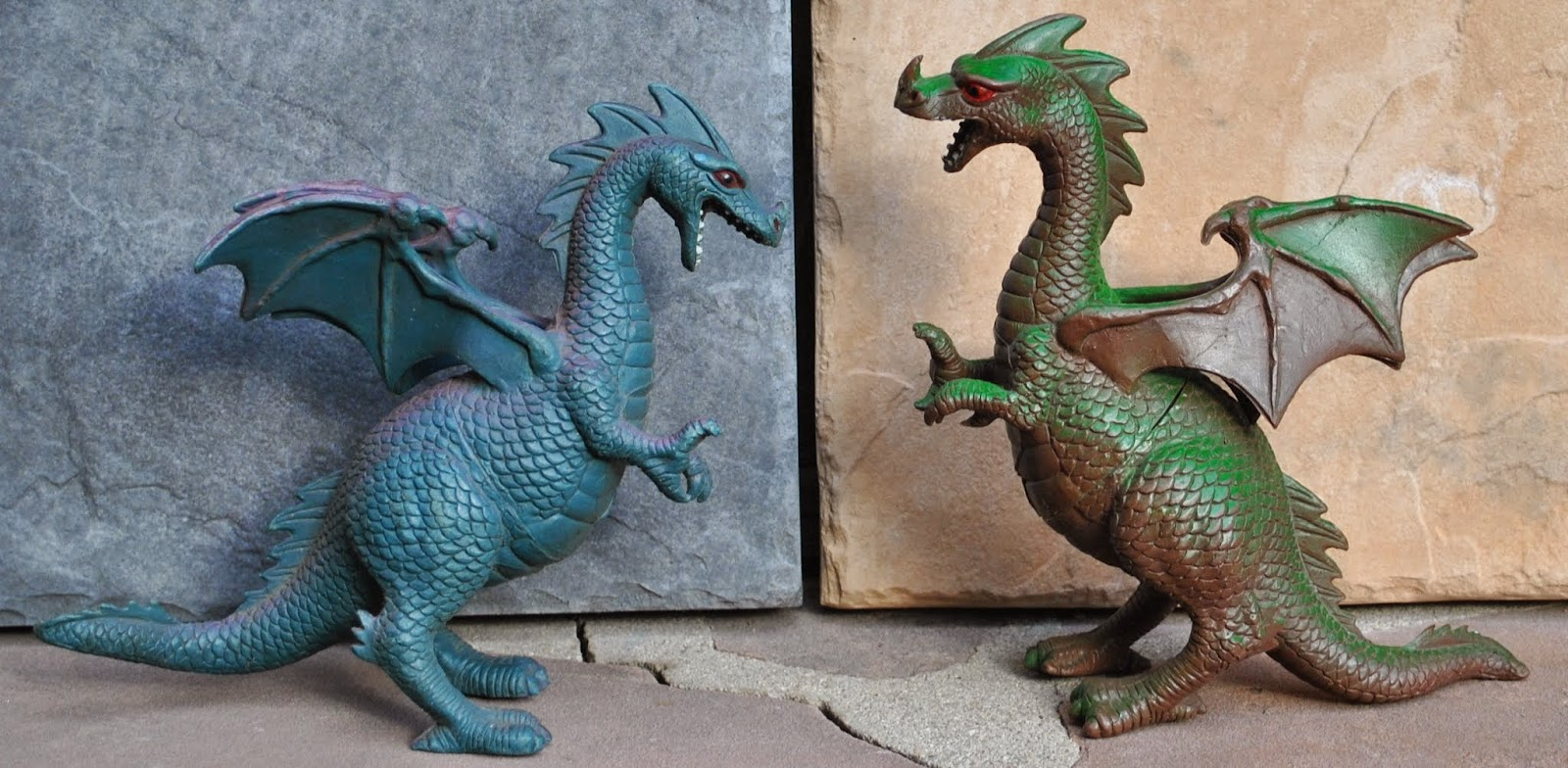 Fantasy Toy Soldiers My Favorite Dragons Of The 1980s