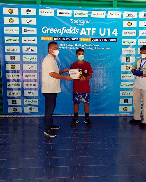 Menangi Final Ideal, M Akmal Junaini Juara Greenfields ATF 14U by SPORTAMA Seri 1