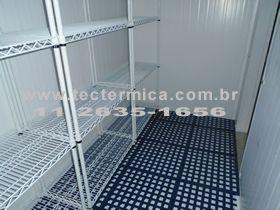 Câmara fria e seus utensílios - Requerem esterilização contra o SARS-CoV-2