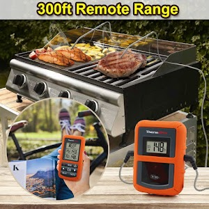 Thermopro tp20 Wireless Remote Digital Cooking Meat Thermometer review