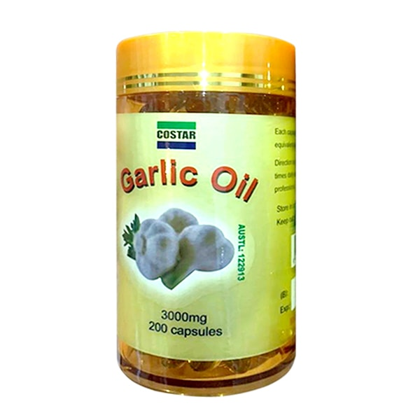 Tinh dầu tỏi Costar Garlic Oil 3000mg 200 viên của
