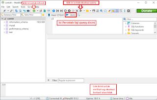 Cara Menggunakan Perintah SQL Query
