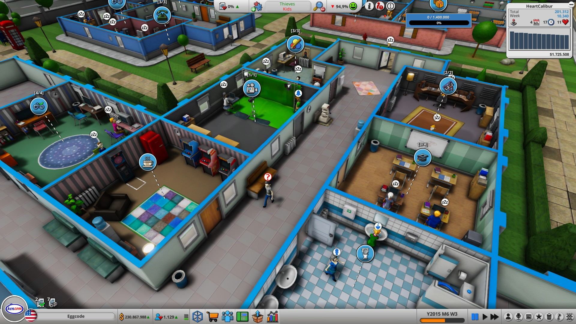 Mad Games Tycoon 2: Table for Cheat Engine [Build 2021.03.18B]