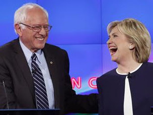 First Clinton-Sanders Debate Of Expanded Schedule Tonight Feb 4th-Livestream It