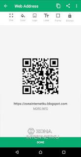 Cara Membuat QR Code Sendiri Di Android Melalui Aplikasi QR Droid 3
