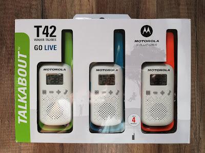 Krótkofalówki Motorola T42