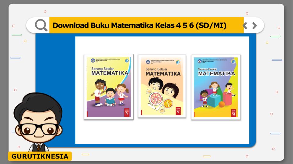download gratis buku pdf matematika untuk sd/mi