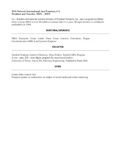 Vice President of Marketing Resume