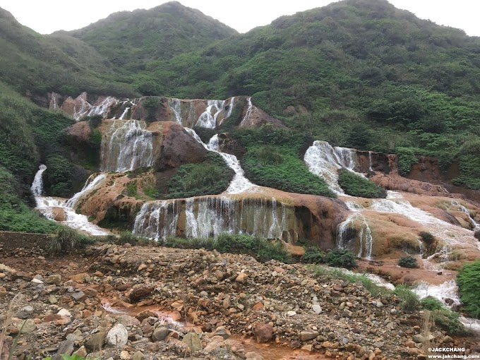 Travel in New Taipei City Attractions-ShueiNanDong Golden Waterfall