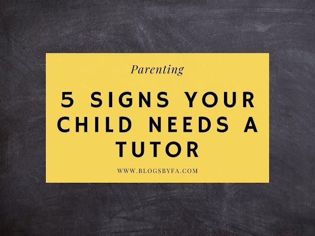 5 Signs Your Child Needs a Tutor