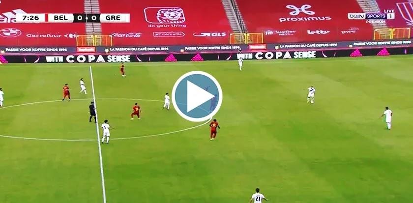 Belgium vs Greece Live Score