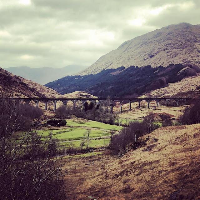 Glenfinnan Viaduct, ou Viaduto do Harry Potter