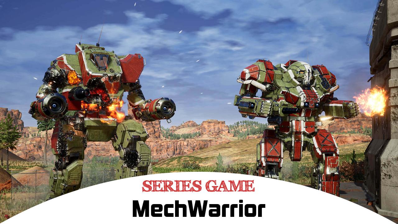 Danh sách Series Game MechWarrior bao gồm đầy đủ các phiên bản được phát hành trên nền tảng máy tính