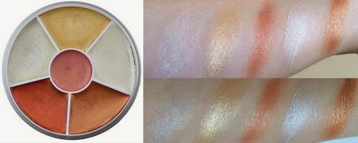 Cream Blusher Palette by kryolan #16