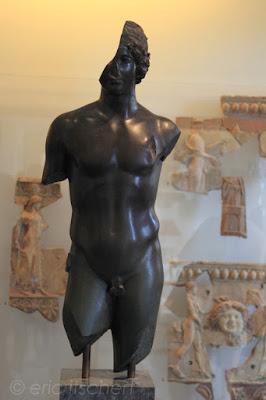 éphèbe nu, statue, sculpture, musée palatin,