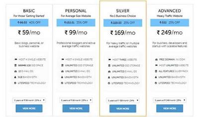 Best web hosting for India.