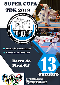 Super Copa TDK de Karate - Edição 2019