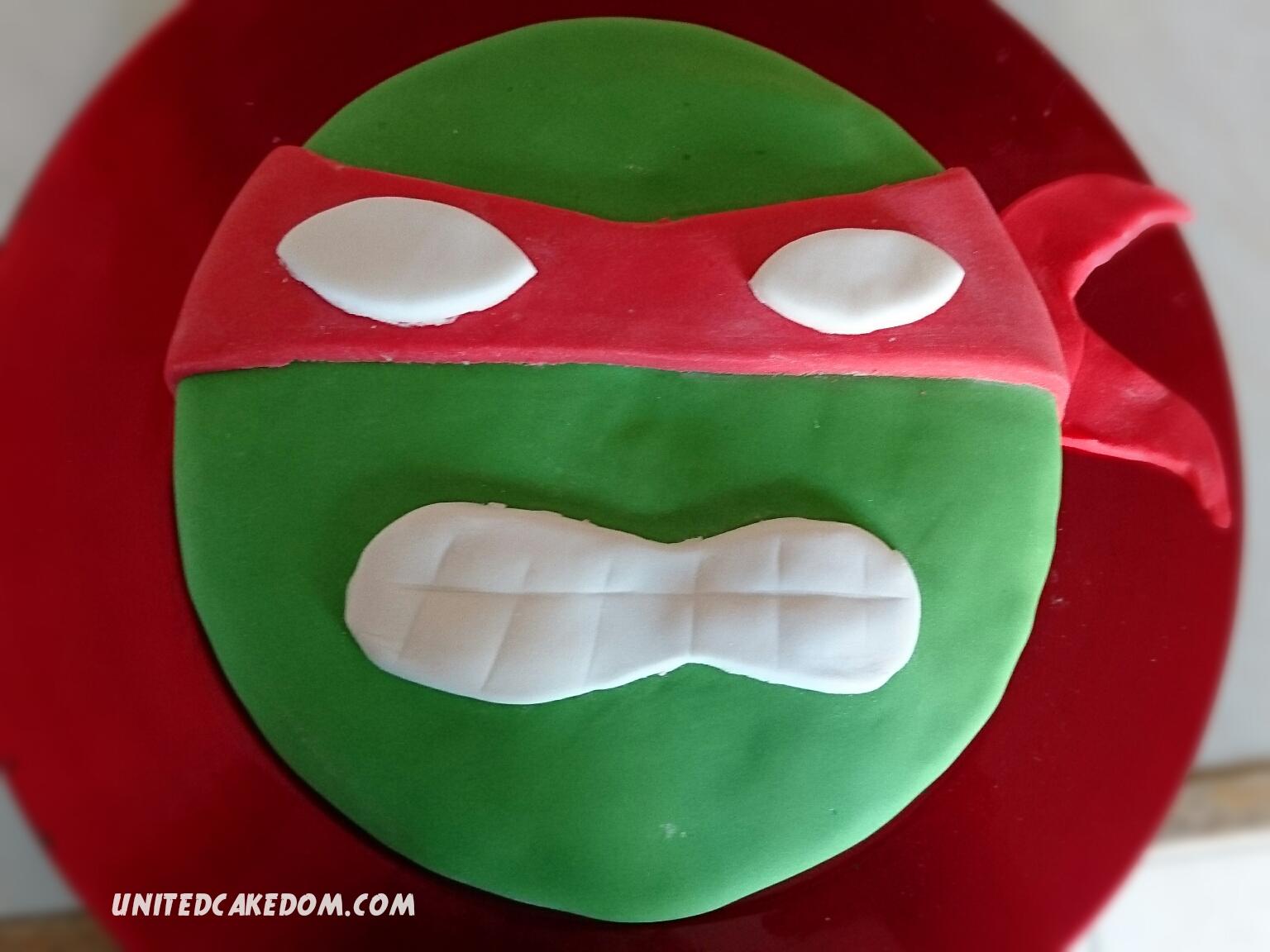Amazing United Cakedom Teenage Mutant Ninja Turtle Cake Birthday Funny Birthday Cards Online Bapapcheapnameinfo