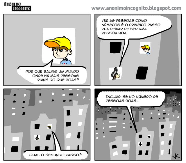 tirinha do anônimo incógnito