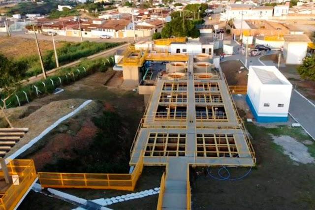 Governador Rui Costa entrega sistema de abastecimento de água em Jaguaquara