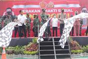 Disiplin Protokol Kesehatan di Palu, Kapolri dan Panglima TNI Lepas Bantuan Sosial