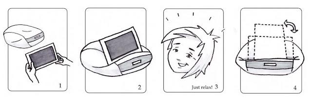 coussin pour tablettes