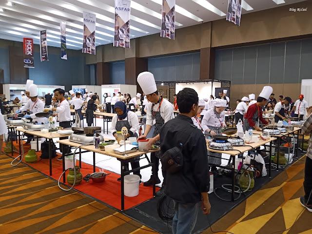 Medan Fusion Culinary 3: Melihat Langsung Event Kuliner di Hotel Santika Premiere Dyandra