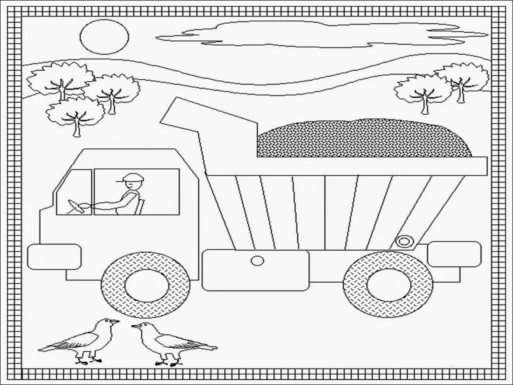 Active Transport Coloring Pages