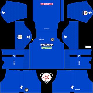 Udinese Calcio 2018 - 2019 GK Away Kit