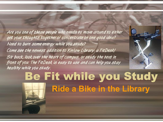 Be fit while you study! - new in the Library