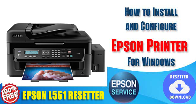 Epson L561 Adjustment Program
