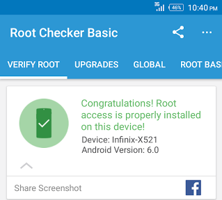 step by step tutorial on how to root and port TWRP to the infinix hot S X521