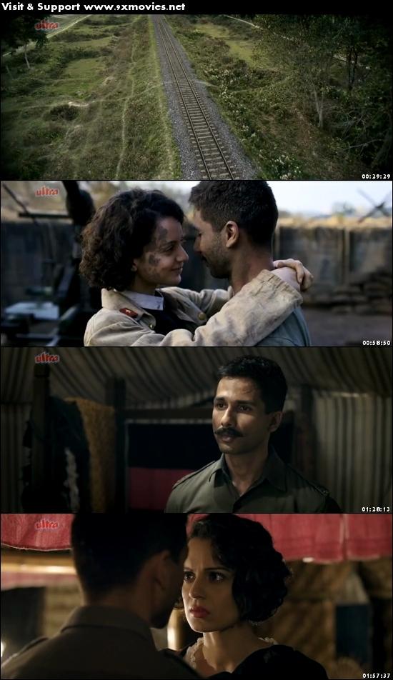 Rangoon 2017 Hindi 480p DVDRip