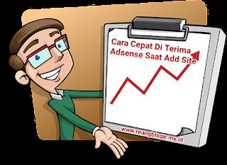 Approve adsense dengan mudah,add site approved adsense,cara add site yang benar