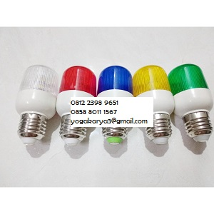 Jual Lampu LED Kedip 220V Flash Lamp Flasher di Jakarta
